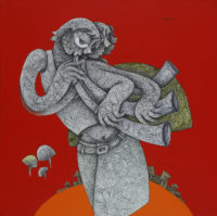 Acrylic on canvas (2)