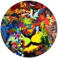 Deepti Gupta -Horses XII -Acrylic on Canvas size 36x36