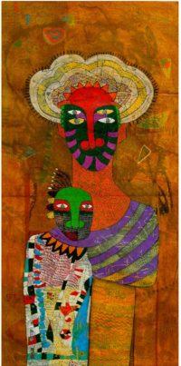Yashwant,singh,Untitiled,Medium,-Charcole On Paper ,Size - 30x60 inc