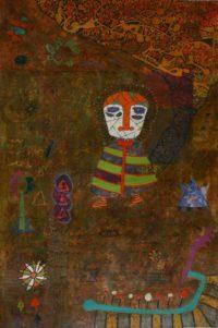 Yashwant,singh,Untitiled,Medium,Charcole On Paper ,Size 19xx28